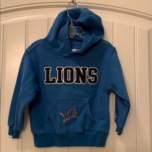 Toddler Detroit Lions hoodie